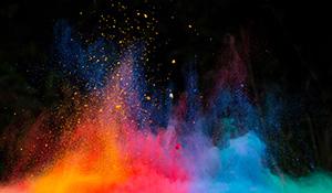 展示会のテーマカラーはどれにする?赤、青、黄色、黒の印象について