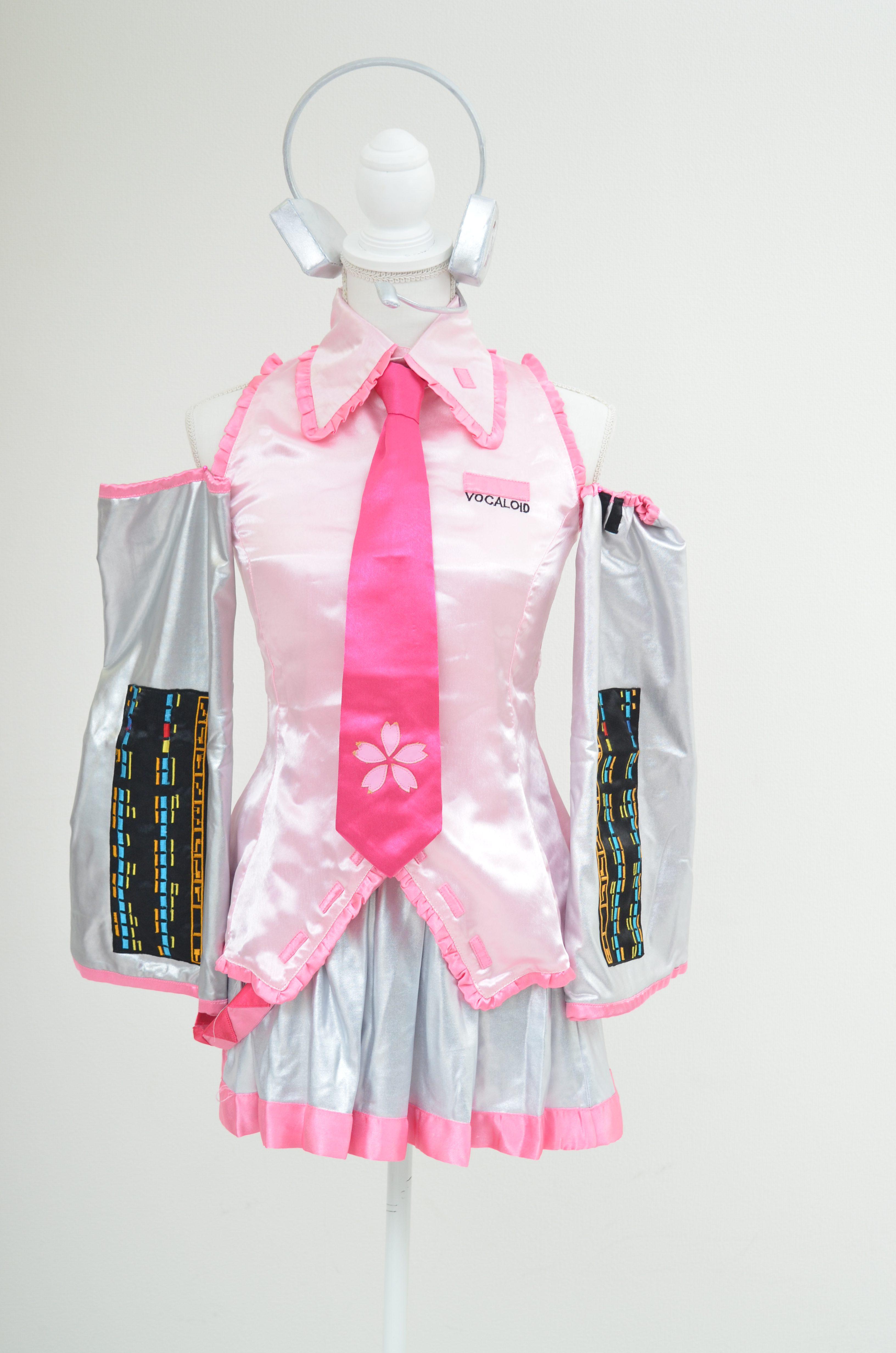 【レンタル期間:単日OK】品番:初音ミク風(桜)