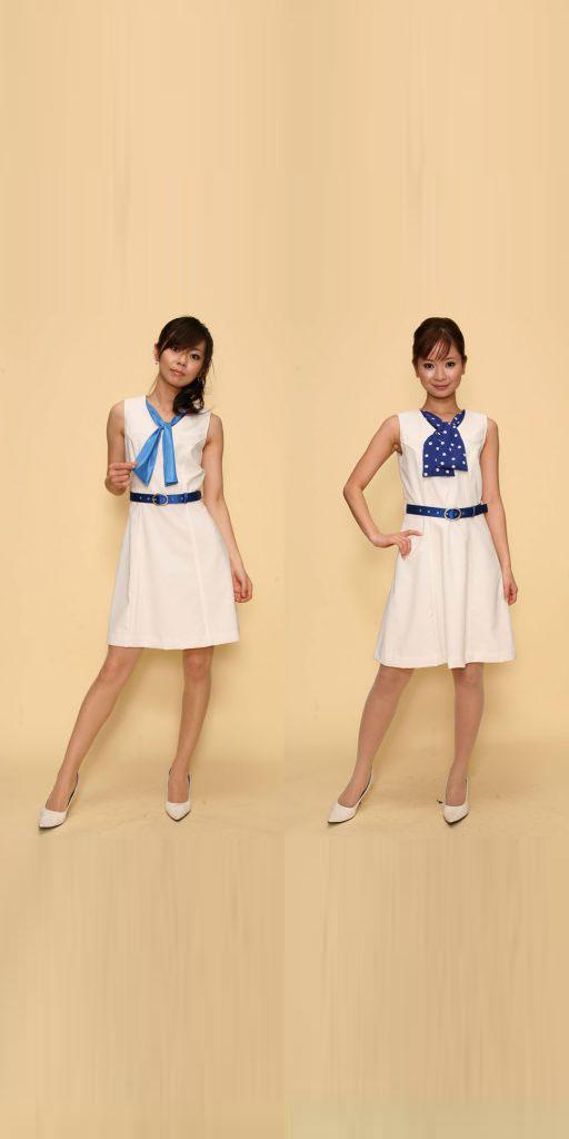 【3日以上】コスチューム:青×白