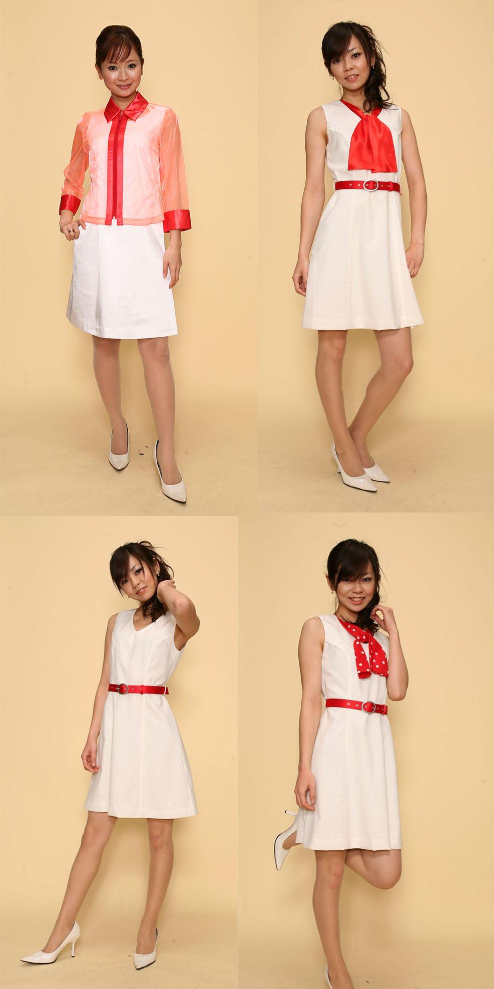 【3日間以上】コスチューム:赤×白
