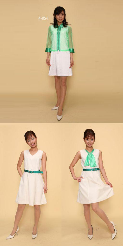 【3日間以上】コスチューム:緑×白